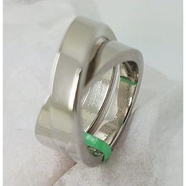 Cartier 18K 18K White Gold Ring Size 5