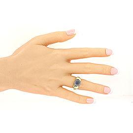 David Yurman Noblesse Sterling Silver Chalcedony Ring Size 6