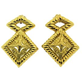 Hammerman Brothers 18k Yellow Gold Vintage Earrings