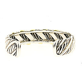 David Yurman Sculpted Sterling Silver Bracelet