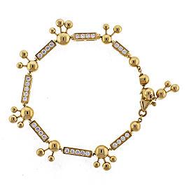 Bulgari Astrale 18K Yellow Gold Diamond Bracelet