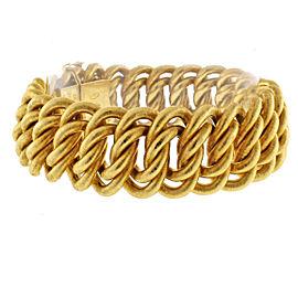 Buccellati 18K Yellow Gold Vintage Bracelet