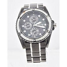 Men's Bulova 98E003 Marine Star Two Tone Stainless Diamond Chrono Dial Watch