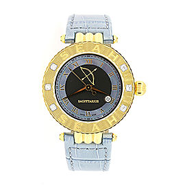 Seah Empyrean Watch Sagittarius Zodiac Diamond Limited Edition 1/50 $1600 & Box