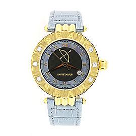 Seah Empyrean Watch Sagittarius Zodiac Diamond Limited Edition 1/50 $1600 & Box