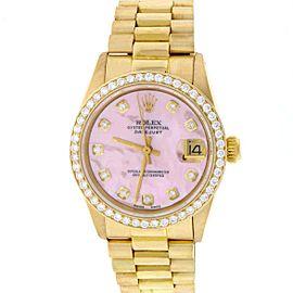 Rolex President Datejust 6827 31mm Womens Watch