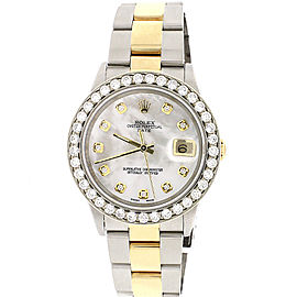 Rolex Oyster Perpetual Date 34mm Womens Watch