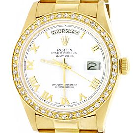 Rolex President Day-Date 18038 36mm Mens Watch