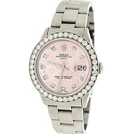 Rolex Oyster Perpetual Date 15200 34mm Unisex Watch