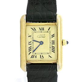 Cartier Paris Tank 366001 21mm Womens Watch