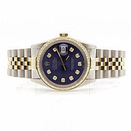 Rolex Datejust 16013 Mens 36mm Watch