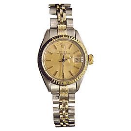 Rolex Date 6917 26mm Womens Vintage Watch