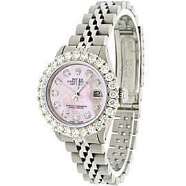 Rolex Datejust 26mm Automatic Steel Jubilee Watch, 1.96ct Diamond Bezel