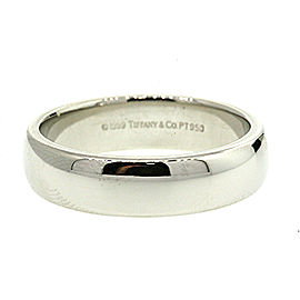 Tiffany & Co. 1999 Lucida mens Platinum 6mm Wedding Band Ring sz 11
