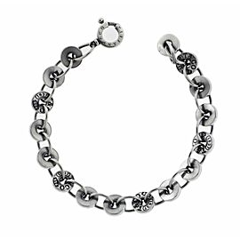 Tiffany & Co 1837 link bracelet in sterling silver 8 inches long