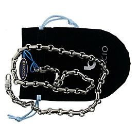 Braccio SS3218-24 Men's chain in Stainless Steel 24 inches