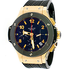 Hublot Big Bang Chronograph 18K Rose 41mm Watch Box Papers 341.PB.131.RX