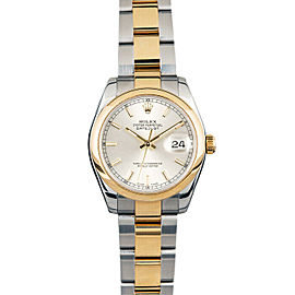 Rolex Datejust 178243 31mmSteel & Yellow Gold Silver Index Women's Automatic