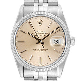 Rolex Datejust 16220 36mmStainless Steel Silver Index Women's Automatic