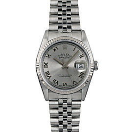 Rolex Datejust 16014 36mmStainless Steel Silver Roman Women's Automatic