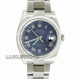 Rolex Datejust 116234 36mmStainless Steel Blue Women's Automatic