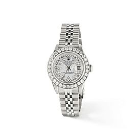 Rolex Datejust Steel 26mm Jubilee Watch Royal MOP 1.3CT Diamond Bezel & Dial