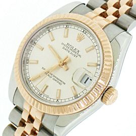Rolex Datejust 2-Tone Rose/SS 31mm Midsize Jubilee Watch