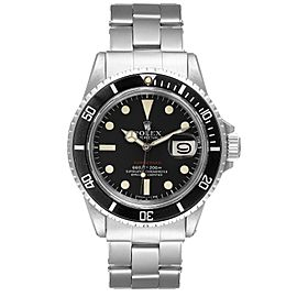 Rolex Submariner Vintage Black Mark V Dial Steel Mens Watch