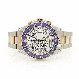 Rolex Yacht-Master II 116681 Men's Rose Gold 44mm Automatic 1 Year Warranty
