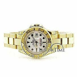 Rolex Yacht-Master 169628 Women's Yellow Gold 29mm Automatic 1 Year Warranty