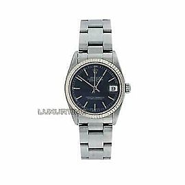 Rolex Datejust 31mm 78274 Women's Blue White Gold 31mm Automatic 1 Year Warranty