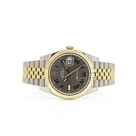 Rolex Datejust 41 126333 Men's Yellow Gold 41mm Automatic 1 Year Warranty