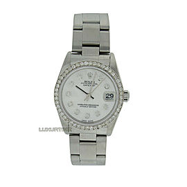 Rolex Datejust 31mm 78240 Women's White Gold 31mm Automatic 1 Year Warranty