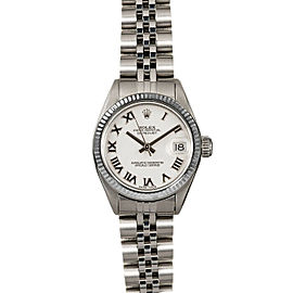 Rolex Datejust 26mm 6916 Women's White Roman White Gold 26mm 1 Year Warranty