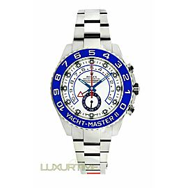 Rolex Yacht-Master II 116680 Men's Stainless Steel 44mm 1 Year Warranty