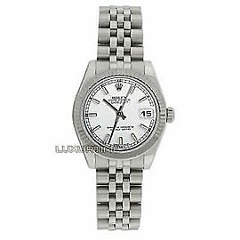 Rolex Datejust 31mm 178274 Women's White White Gold 31mm 1 Year Warranty