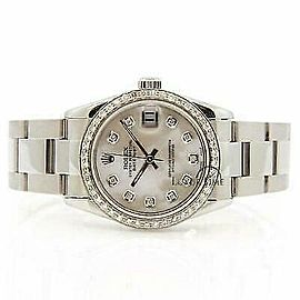 Rolex Datejust 31mm 78240 Women's White MOP White Gold 31mm 1 Year Warranty