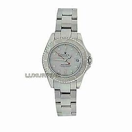 Rolex Yacht-Master 168622 Women's Stainless Steel 35mm 1 Year Warranty