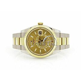 Rolex Sky-Dweller 326933 Men's Yellow Gold 42mm Automatic 1 Year Warranty