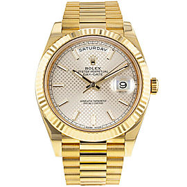 Rolex Day-Date 40mm 228238 Men's Yellow Gold 40mm Automatic 1 Year Warranty