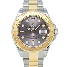 Rolex Yacht-Master 16623 Men's Yellow Gold 40mm Automatic 1 Year Warranty