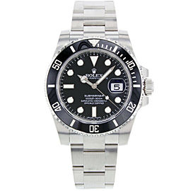 Rolex 116610 Submariner Men's Stainless Steel Black 1 Year Warranty