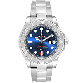 Rolex 116622 Yacht-Master Men's Stainless Steel Blue 1 Year Warranty