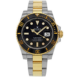 Rolex 116613 Submariner Men's Stainless Steel Black 1 Year Warranty