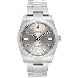 Rolex 116000 Oyster Perpetual 36 Men's Stainless Steel Silver 1 Year Warranty