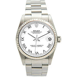 Rolex Datejust 31mm 78274 Women's Stainless Steel Automatic White 1YrWarranty