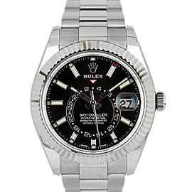 Rolex Sky-Dweller 326934 Men's Stainless Steel Automatic Black 1 Year Warranty
