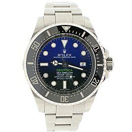 Rolex Sea-Dweller DeepSea 44mm D-Blue James Cameron Dial Steel watch 116660