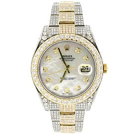 Rolex Datejust II 41mm 2-tone Yellow Gold/Steel Oyster Watch 116333 Box & Papers