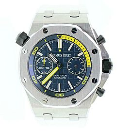 Audemars Piguet Royal Oak Offshore 42mm Diver Chronograph Watch Box Papers
